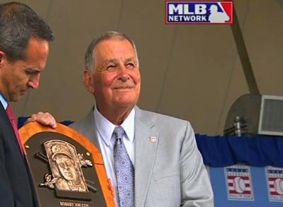 News video: Baseball Hall of Famers Inducted