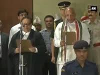 News video: Kaptan Singh Solanki takes oath as Haryana Governor